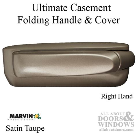 marvin folding handle  cover ultimate casement  hand