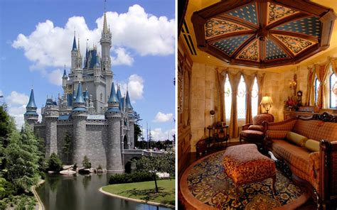 secret hotel suite  disneys cinderella castle