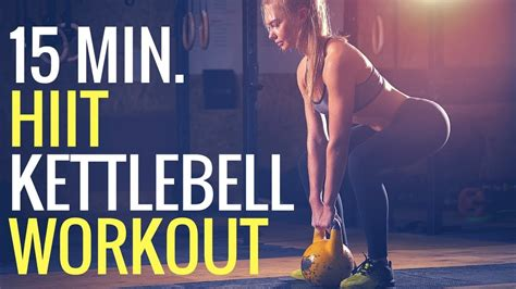 hiit workout kettlebell minute fat burning