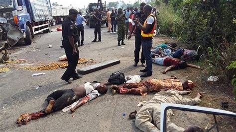 10 Dies In Fatal Accident At Lagos Ibadan