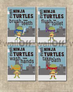 ninja turtle bathroom on pinterest