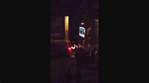 Dzhokhar Tsarnaev on stretcher being put into the ...