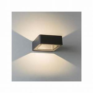 Eclairage Exterieur Castorama : applique murale led napier noire astro lighting ~ Carolinahurricanesstore.com Idées de Décoration