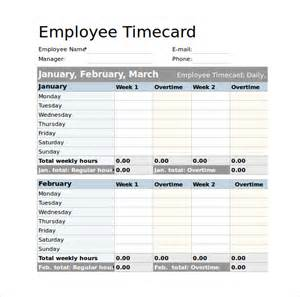 Hourly Log Sheet Template Sle Employee Timesheet Calculator 8 Documents In Pdf Excel