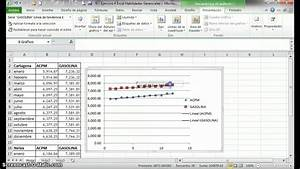Analisis Grafico Excel Diagrama De Dispersion  Ejemplo