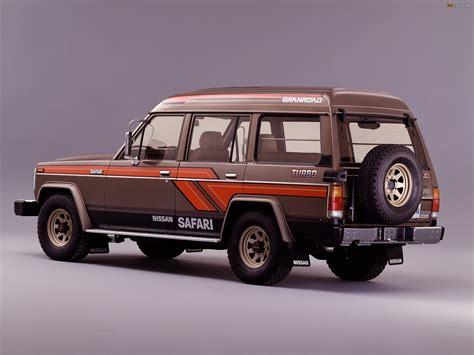 Nissan Safari Station Wagon Granroad High Roof Turbo AD