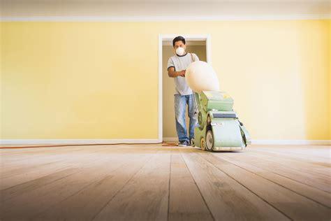 paint walls  refinish floors