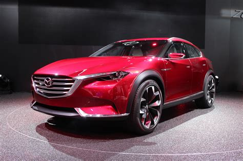 koeru concept previews mazdas future suvs