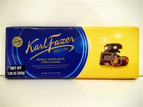 bestemorsimports assorted karl fazer chocolate bars