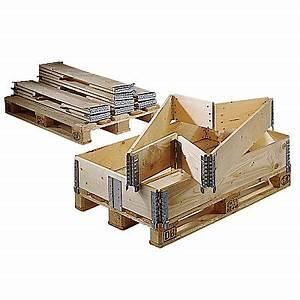 Palette Bois Gratuite : rehausse en bois pour palette format europ en pliable ~ Melissatoandfro.com Idées de Décoration