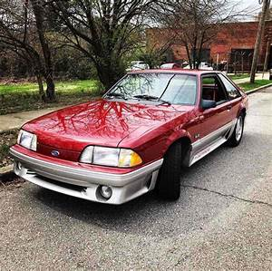 1991 Ford Mustang Hatchback Red RWD Automatic GT for sale - Ford Mustang 1991 for sale in ...