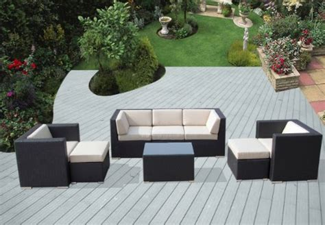 genuine ohana outdoor patio sofa sectional wicker