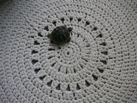 comment tricoter un tapis rond