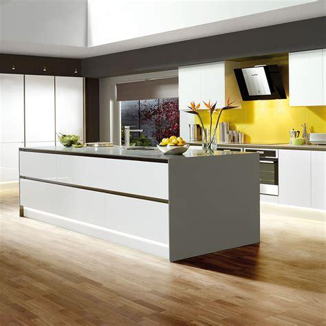 luna matt white kitchen style kitchens magnet trade