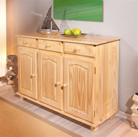 mobili in legno di pino norda credenza classica legno di pino naturale mobile
