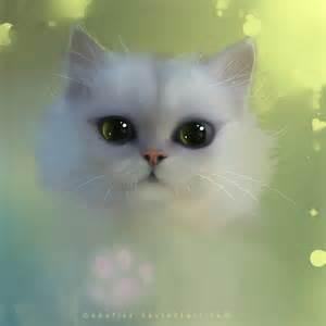 Cute Anime Cat