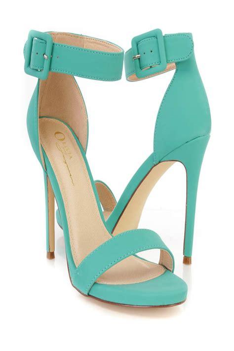 heels special price aqua ankle single sole high heels nubuck