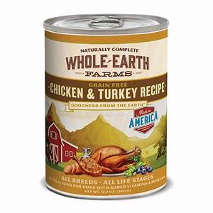 Whole Earth Farms Grain Free Canned Dog Food, Chicken ...