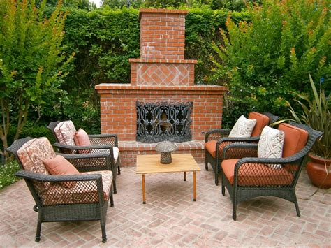 Outdoor Brick Fireplaces Outdoor Design Landscaping