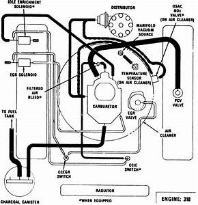 34 Dodge 318 Engine Diagram