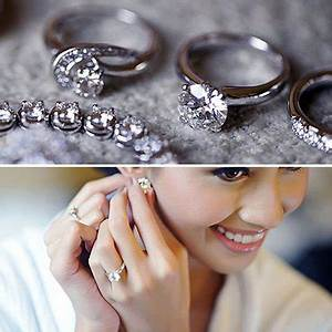 Popular cheap wedding rings for newlyweds: Engagement ring ...