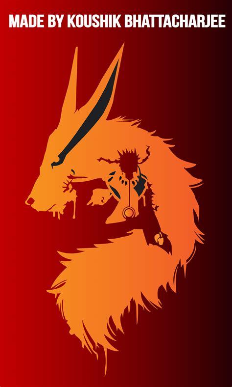 Naruto And Kurama Abstract Wallpaper Design On Behance