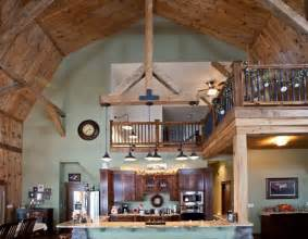 Gambrel Barn Home Interior Designs