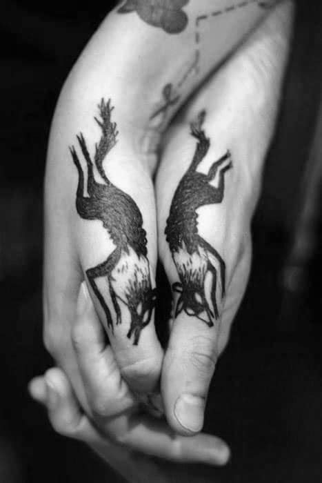 40 Side Hand Tattoos For Men - Palm Edge Design Ideas