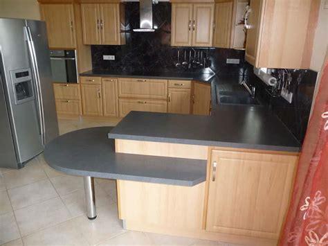 cuisine grise plan de travail noir cuisine plan de travail gris chaios com