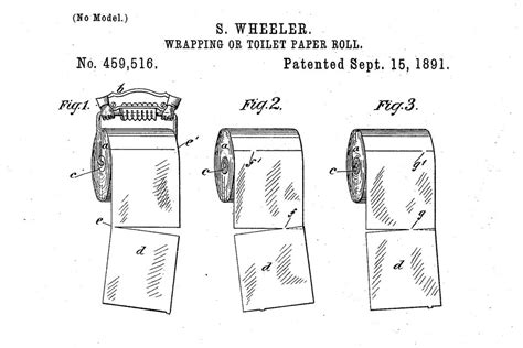 why an 1891 toilet paper patent is all cnet