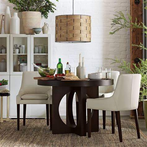 West Elm Dining Room Tables by Dining Table With Cutout Legs Modern Dining Tables