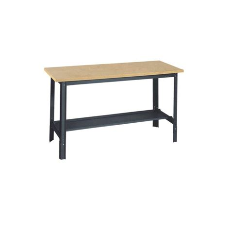 husky   adjustable workbench  solid wood top