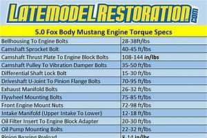 5 0 Torque Specs For Fox Body Mustang