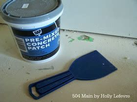 504 Main by Holly Lefevre: How to Stain or Dye Concrete