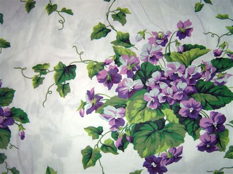 Waverly Sweet Violets Fabric