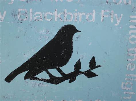 handmade  jilly gs blackbird fly