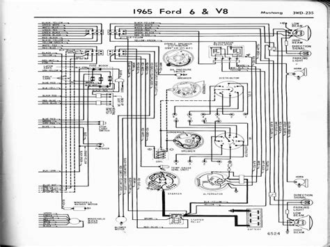 1965 ford mustang alternator wiring diagram wiring