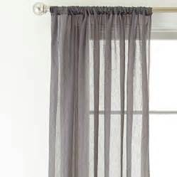 royal velvet 174 crushed voile rod pocket sheer curtain panel