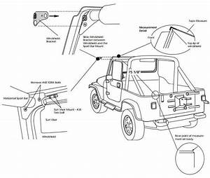 how to install a bestop supertop soft top w tinted With installing a new jeep soft top