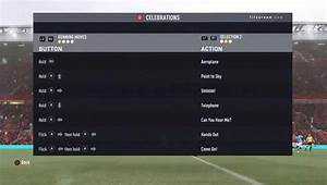 FIFA 17 Celebrations Guide New Updated Goal