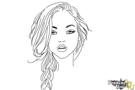 draw  pretty girl drawingnow