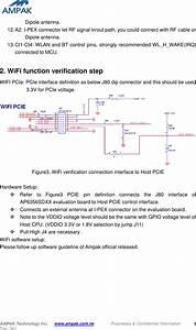 Ampak Technology Ap6356sdxx Wlan Module For 802 11abgn 2x2
