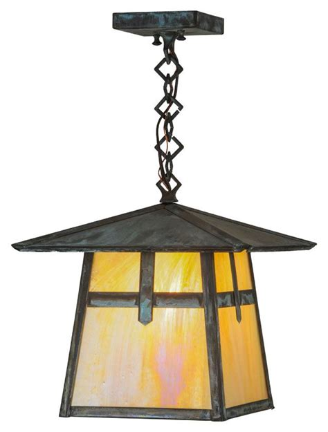 craftsman style hanging outdoor light 1000 images about craftsman arts and crafts lighting on