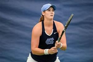 Hayley Carter and the North Carolina women's tennis team ...