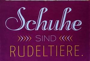 Schuhe Sind Rudeltiere : schuhe sind rudeltiere zitate und spr che auf postkarten von vintage art pickmotion und ~ Markanthonyermac.com Haus und Dekorationen