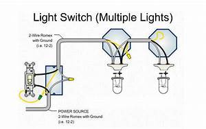 Multiple Led To One Switch Wiring Diagram