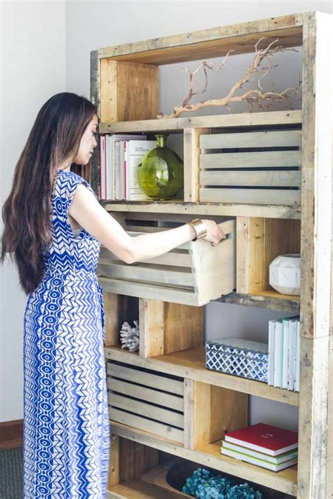 meuble en palette 34 id 233 es fra 238 ches de diy d 233 co naturelle