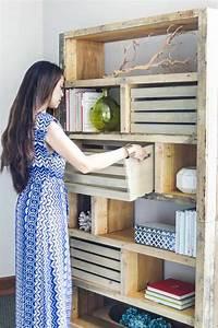 Meuble A Faire Soi Meme Recup : meuble en palette 34 id es fra ches de diy d co naturelle ~ Zukunftsfamilie.com Idées de Décoration