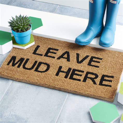 Doormats Uk by Personalised Doormat By Letteroom Notonthehighstreet
