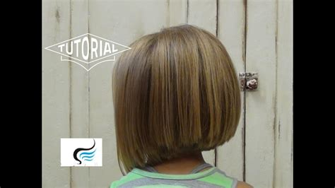Adorable A-line Hairstyle For Little Girls